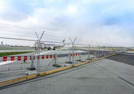 tlc group MOBILT mesh fences Chopina airport warsaw poland