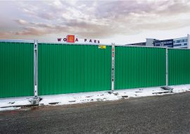 tlc group smart hoarding fences metro Warsaw