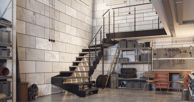 Modulære trapper er et unikt og ugjentakelig produkt. Som eneste trapper på markedet har de justerbar trinnhøyde, noe som gjør det enkelt å tilpasse dem til enhver høyde.