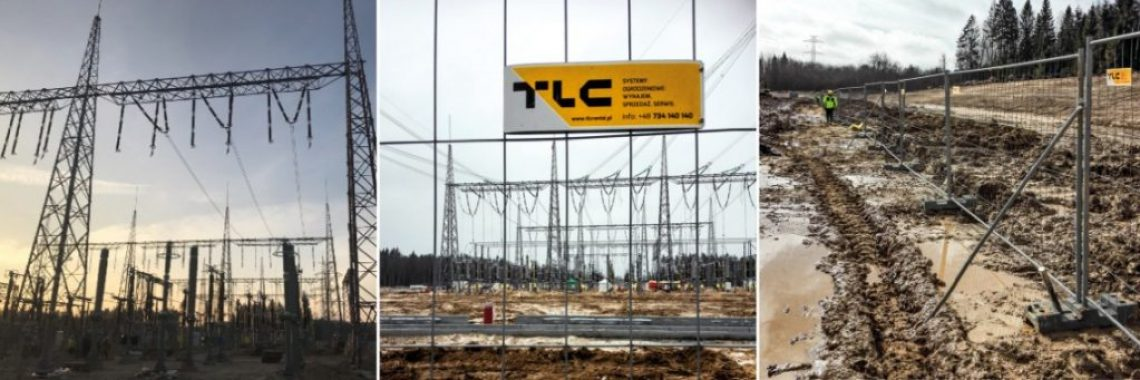 TLC Group mobilt fences gdansk baner