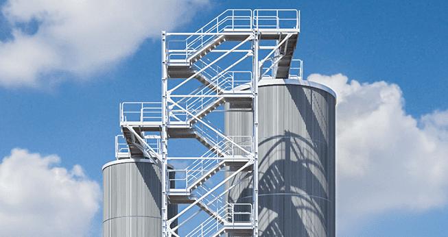Lette stålkonstruksjoner som er meget anvendelige, blant annet i boligbygninger, offentlige bygg og andre typer fleretasjebygg.